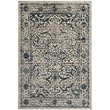 Safavieh Evoke Collection EVK512C Vintage Beige and Blue Area Rug (5'1″ x 7'6″) Review