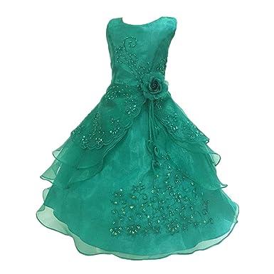 0e4dde449092b CHD 子供ドレス スパンコール 女の子フォーマルドレス 子供ワンピース 花 ガールズフォーマル キッズドレス ワンピース 入園