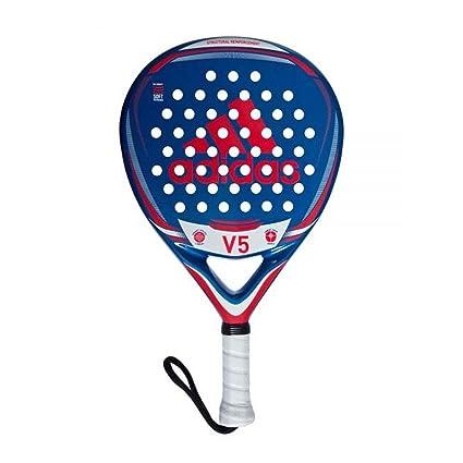 adidas V5 Pala de pádel de Tenis, Hombre, Azul, 0.36: Amazon ...