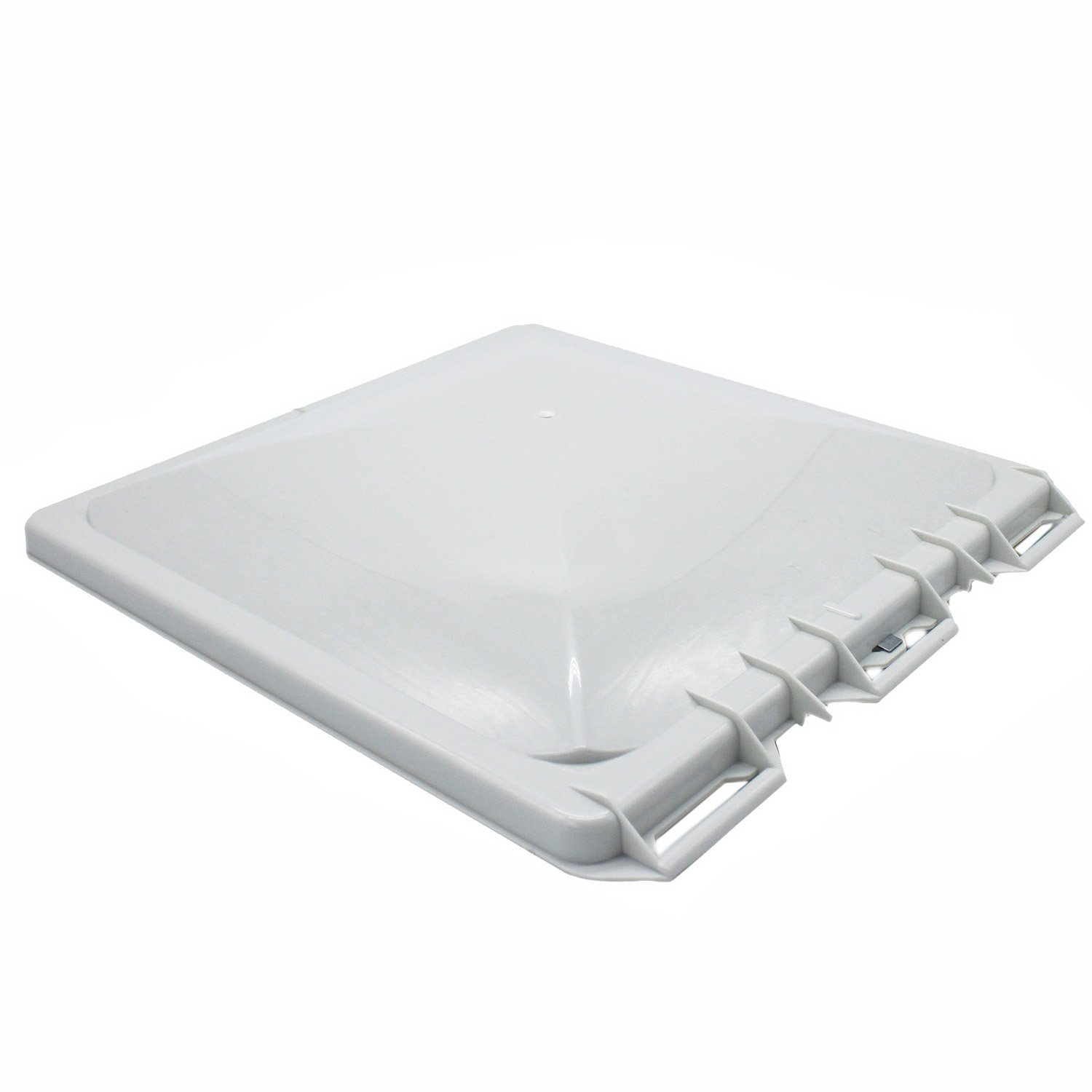 X-Haibei RV Roof Vent Lid Cover Replacment Plastic White 13x13x2 inches for Camper Trailer by X-Haibei