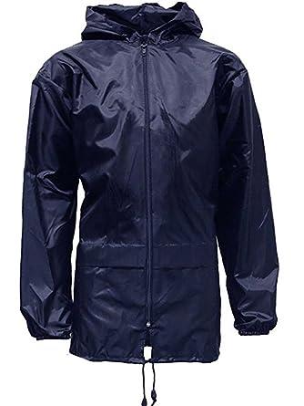 shelikes Adults Mens Womens Unisex Kagool Rain Jacket  Amazon.co.uk   Clothing 0a7c568536