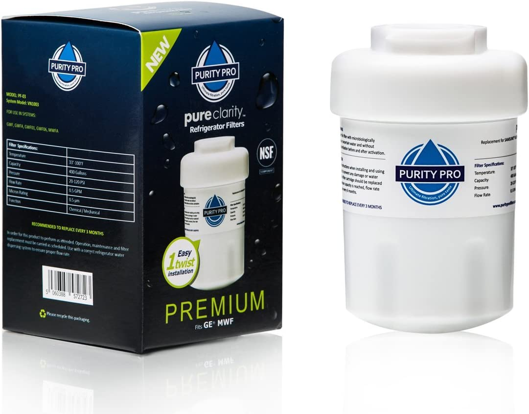 Purity Pro PF03 Replacement Filter for GE MWF, Smart Water MWFP