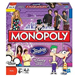 Monopoly Jr. Disney Channel