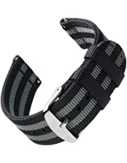 Archer Watch Straps | Premium Nylon Quick Release Replacement Watch Bands for Men and Women, Watches and Smartwatches | Multiple Colors, 18mm, 20mm, 22mm