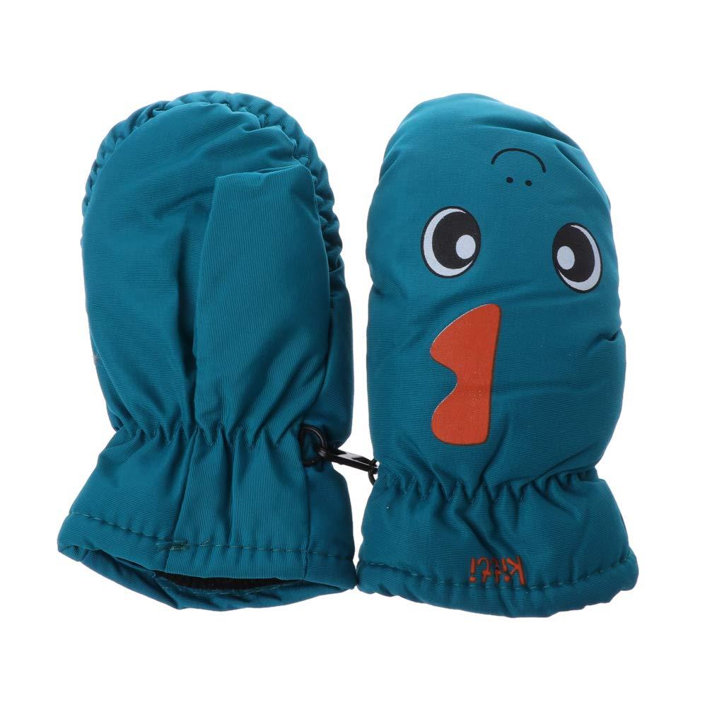2-5years Good Quality Baby Mitten For Winter Kids Boys Girls Outdoor Warm Gloves Waterproof Windproof