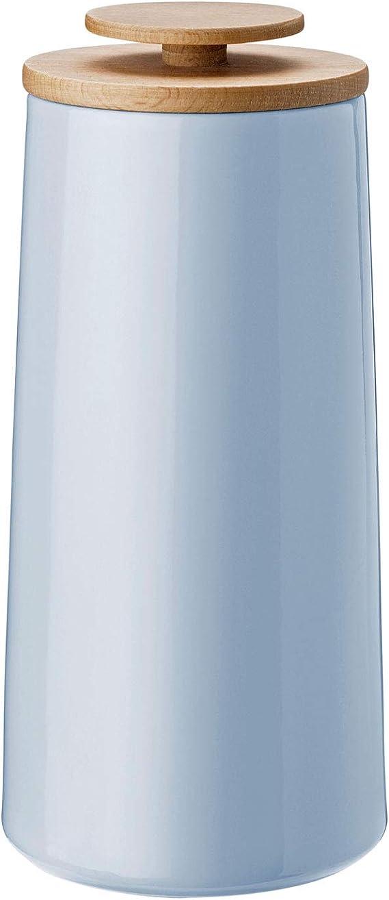 Stelton Vorratsdose, Hellblau, H 23cm Ø 10,8cm