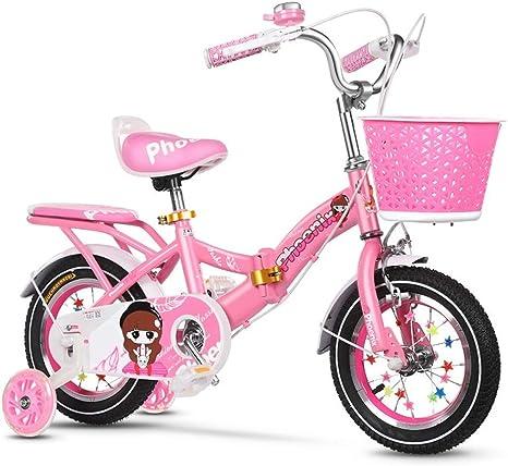 Xiaoping Bicicleta para niños 2-3-4-6-7-8 años Bicicleta de niña ...