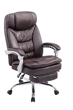 swivel desk chair manager boss office chair high back executive pu