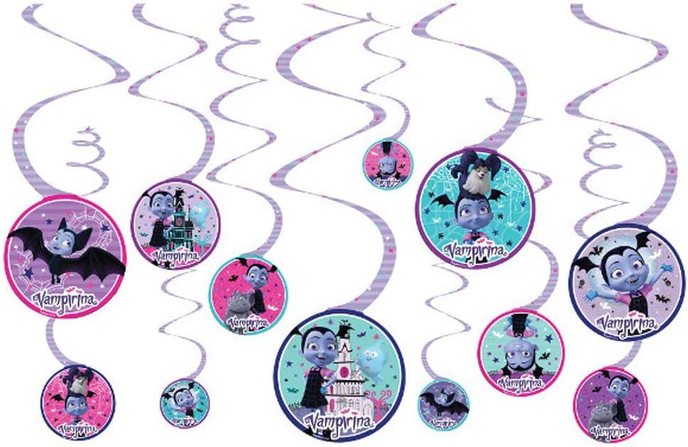 Vampirina Hanging Swirl Decorations (12)