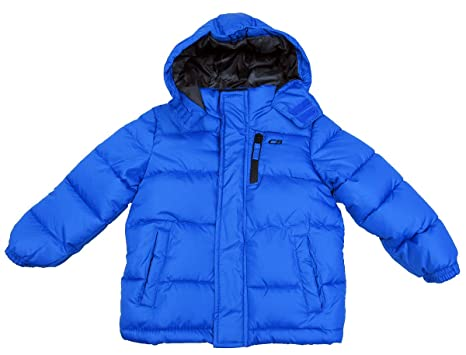 0342ee59c Image Unavailable. Image not available for. Color: CB Sports Hooded Puffer  Coat Toddler Boys ...