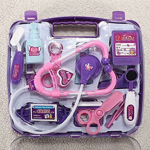 QOJA baby pretended doctor play set carry case medical kit by QOJA (Image #3)