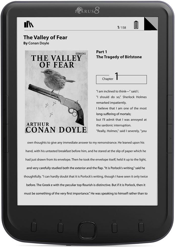 Icarus 800 - Lector de eBooks (pantalla de 8