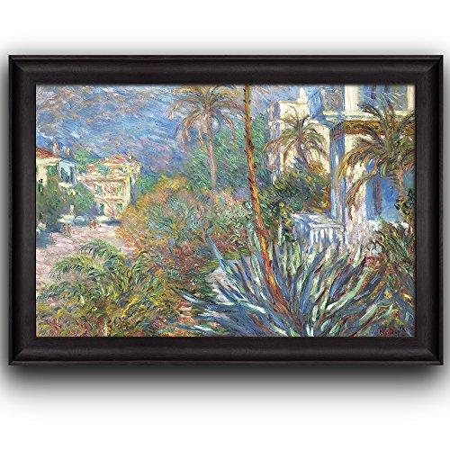 Villas at Bordighera by Claude Monet Framed Art