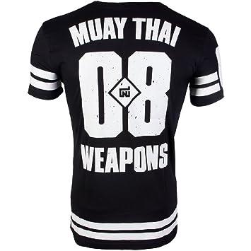 8 WEAPONS Muay Thai - Camiseta, Team 08, Té, Boxeo tailandés, Kickboxing, MMA: Amazon.es: Deportes y aire libre
