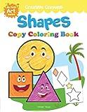 Shapes Colouring Book: Creative Crayons Series - Crayon Copy Colour Books