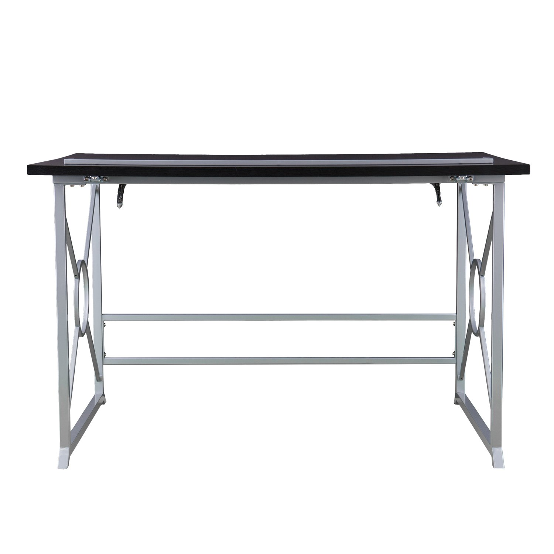 Adjustable Drafting Writing Table - Tilt Top Drawing Desk - 19 Height Variations