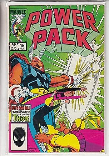 Power Pack # 15: Amazon.es: Marvel Comics: Libros