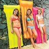 Intex Neon Frost Air Mat Mattress 72'X30' (colors may vary) - Pack of 2
