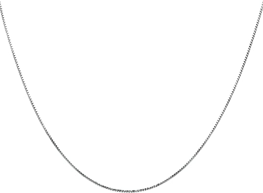 Flashing God 925 Sterling Silver 1mm Snace Chain Super Thin Strong Italian Crafted Necklace 14-36 inches