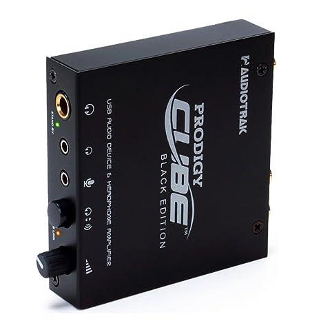 audiotrak Prodigy Cube Black Edition Tarjeta de Sonido ...