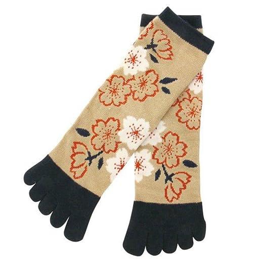 Japan Ninja 5toe Socks 31404801 Sakura Kyoto Kurochiku at ...