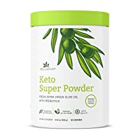 WellGrove Keto Super Powder | 0g Net Carbs, 0g Sugar, Prebiotic Fiber, and 180g...