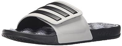 e1430fb4a770 adidas Men s Adissage 2.0 Stripes Athletic Sandal