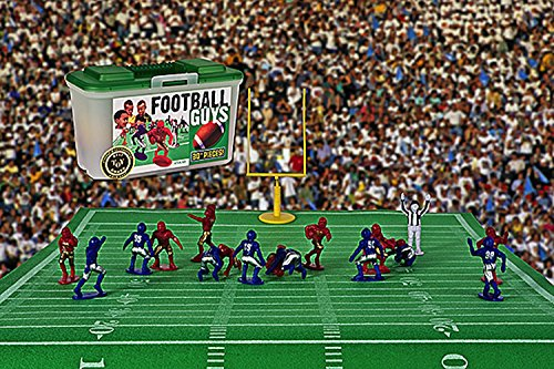 Kaskey Kids Football Guys: Red vs. Blue  Inspires Imagination with Open-Ended Play  Includes 2 Full Teams and More  For Ages 3 and Up by Kaskey Kids (Image #3)