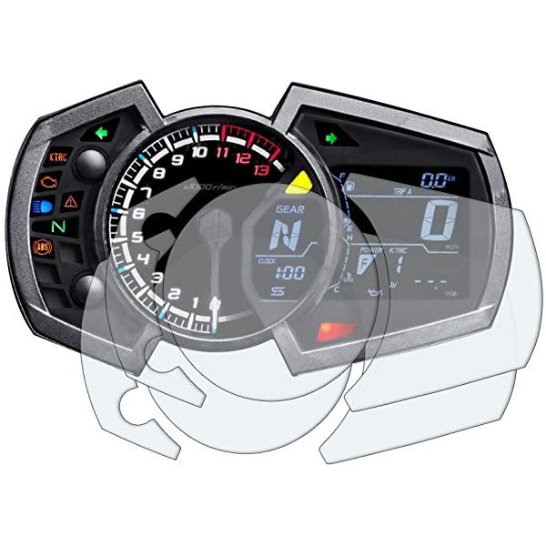 Kawasaki Ninja 250/400/650 2017+ Protector de Pantalla: 2 x ...