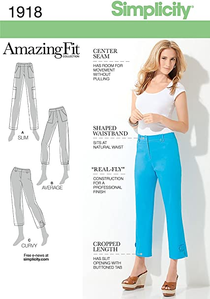 Size R5 14-16-18-20-22 Simplicity Sewing Pattern 2151 Misses and Miss Petite Amazing Fit Tops