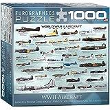 World War II Aircraft Puzzle, 1000-Piece