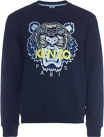 Kenzo Sweat Tiger Noir 99 (S): Amazon.fr: