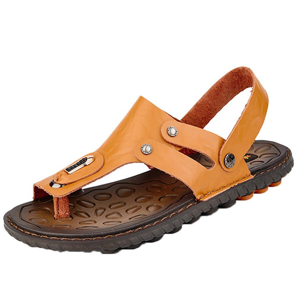 Insun Sandalias Temporada De Verano Hombre Antideslizante Zapatos De Playa Zapatillas 42 EU|Marrón