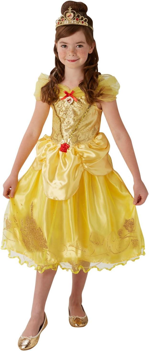 Rubies - Disfraz Oficial de la Princesa de Disney de Bella y la ...