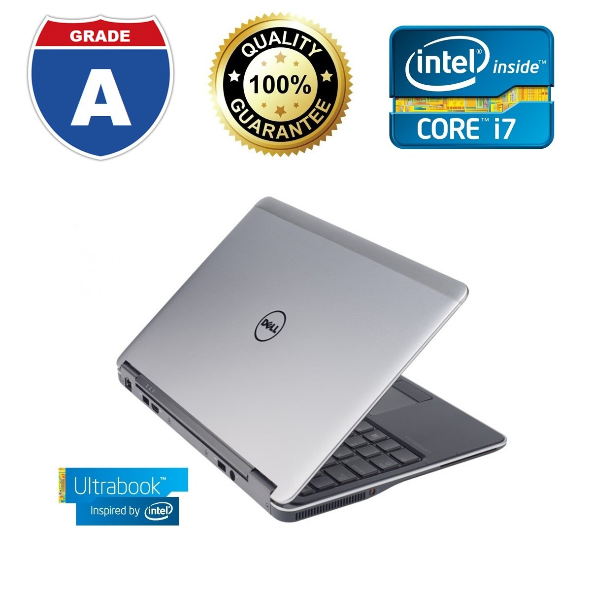 "Latitude E7240 12.5"" LED Ultrabook - Intel Core i7 i7-4600U 2.10 GHz"