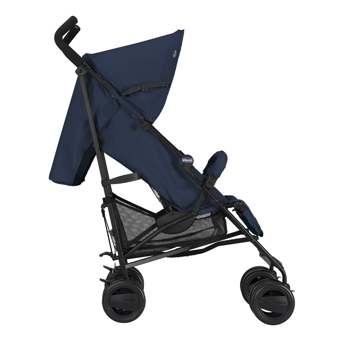 Chicco London - Silla de paseo, 7.2 kg, compacta y manejable, color azul
