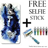 Hamee TM Printed Hard Back Skin Case Cover For Xiaomi Redmi 3s Prime Cover with Selfie Stick - Combo 9