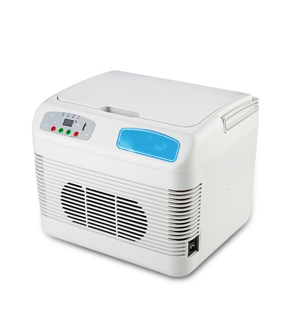 LIQICAI Portable Insulin Mini Kühlschrank Intelligente elektrische Kühlbox/12V DC (Auto)/220V AC (Zuhause)