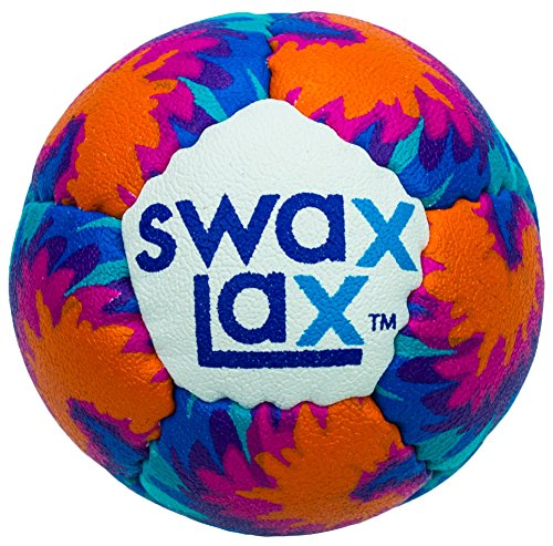 Swax Lax Lacrosse Training Ball (Maui) - Same Size and Weight as Regulation Lacrosse Ball but Soft - No Rebounds, Less Bounce Practice Ball