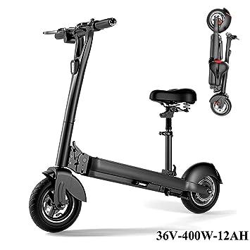 AMINSHAP Scooter Eléctrico para Adultos, 400W De Alta ...