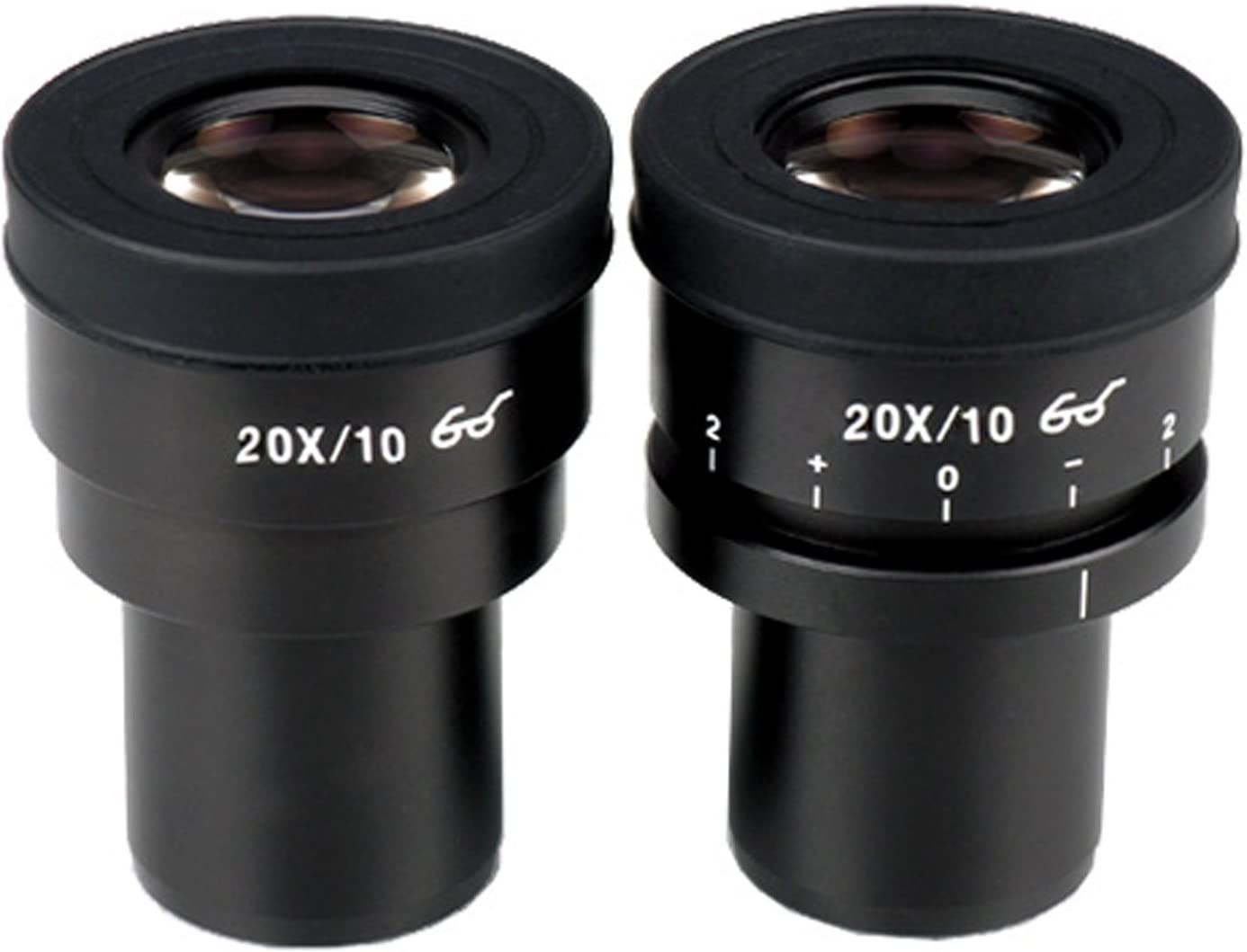 30mm AmScope EP25X30F Pair of Focusable Extreme Widefield 25X Eyepieces