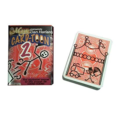 Royal Magic Dan Harlans Card-Toon 2 - Magic Card Trick: Toys & Games