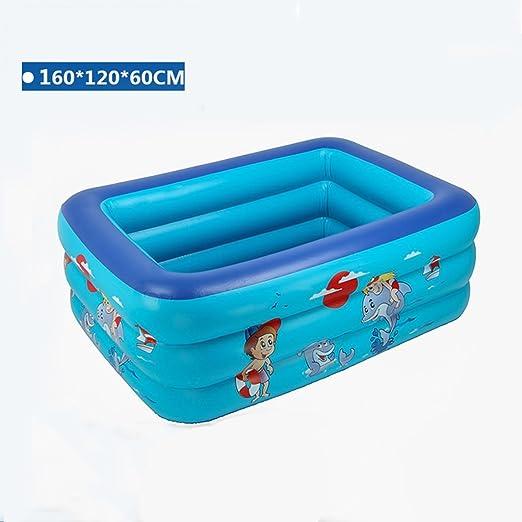 LYM & bañera Plegable Piscina Inflable del bebé Piscina Piscina ...