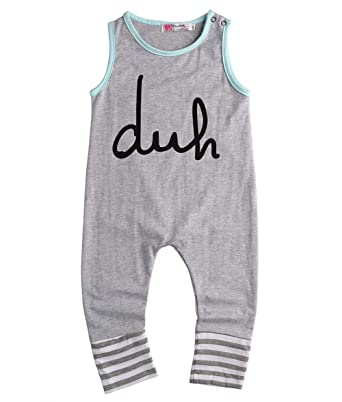 63f5be951 Gobrillant Newborn Kids Baby Boy Girls Siamese Lading Romper Jumpsuit  Bodysuit Outfits Clothes (3-
