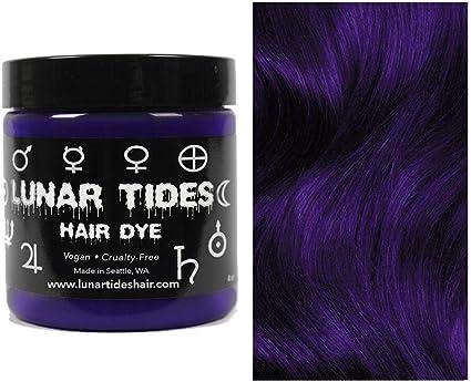 Night Shade, tinte para el cabello semi permanente violeta - 118 ml - Lunar Tides