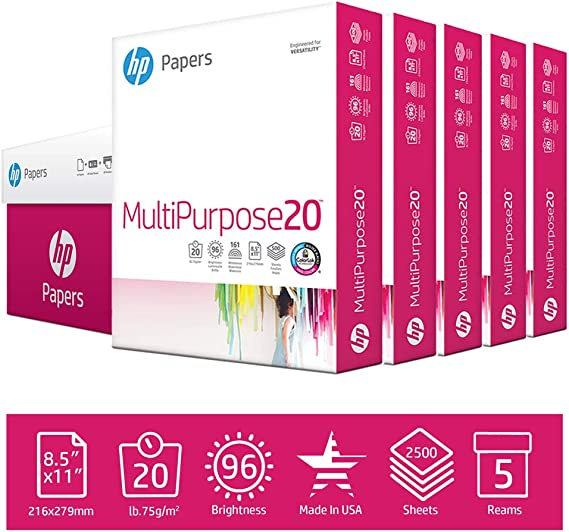 HP Printer Paper MultiPurpose 20lb