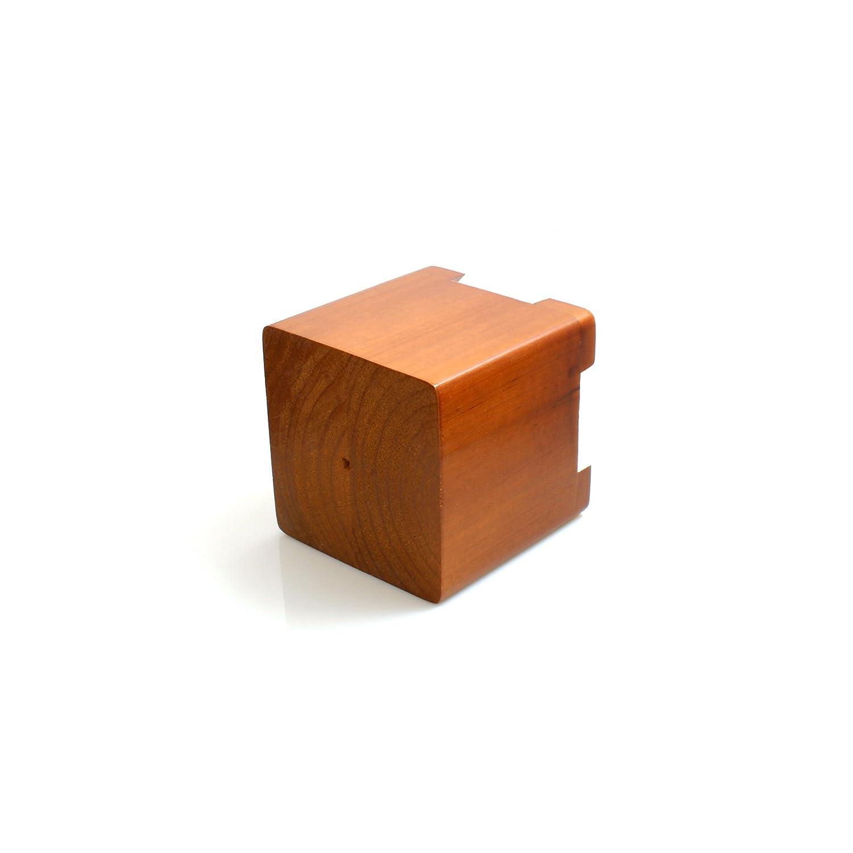 tables lits Design61 Lot de 4 pieds en bois v/éritable pour rehausser meubles
