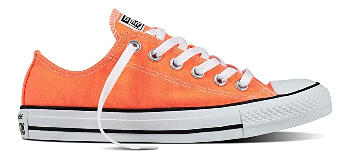 Converse Chucks All Star Low Top Sneaker Herren Orange (Hyper Orange)