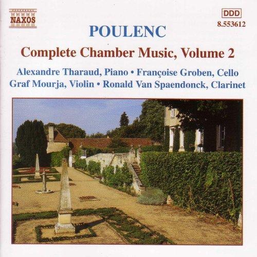 ... Poulenc: Violin Sonata / Clari.