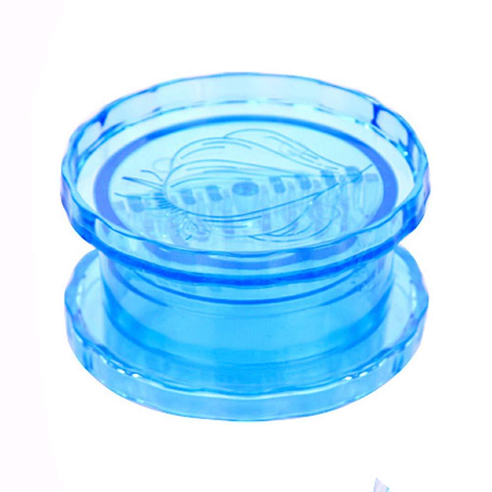 Lanhui Kitchen Helpful Garlic Crusher Grater Plastic Box Twist Peeler Mincer Press (7.87.84.1cm, Blue)